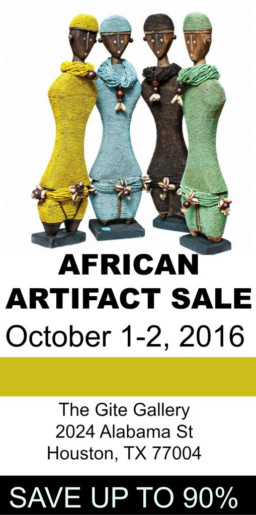 the gite gallery african art